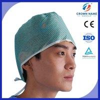 Spunlace Mesh or Paper Surgical Cap