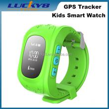 Cheap Kids Smart Watch Q50, familly Guard SOS Call 2G SIM Card GPS Locating Digital Watch for Kids