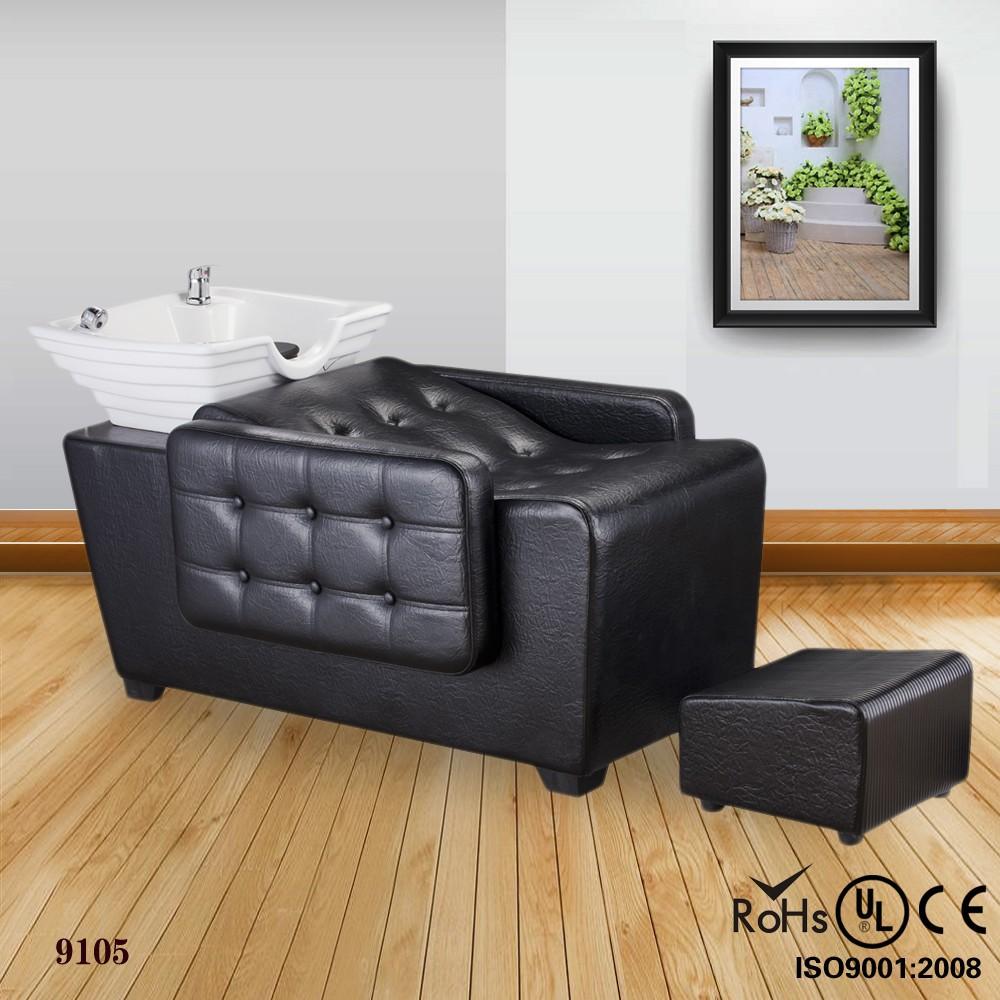 Hot selling hair salon equipment shampoo chair with hair for Sell salon equipment