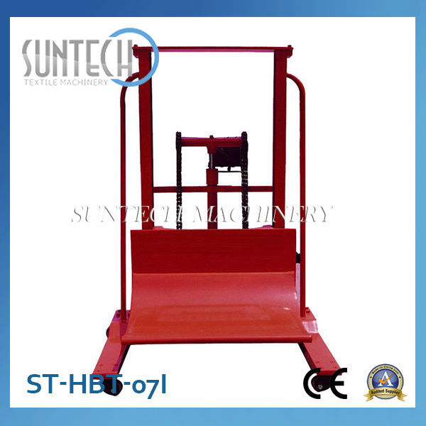 Suntech Hidrolik Kumaş Rulo Başaltma / Dozaj Arabası ( kumaş kontrol makineleri için)