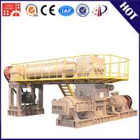 New technology automatic in clay brick production line withe retaining wall block machine