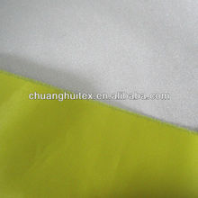 hot sale 100% polyester taffeta with silver coating fabric
