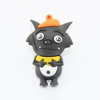 2015 Promotion gift famous chinese cartoon wolf usb flash drive,novelty Pen drive usb memory stick mini usb stick