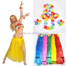 Hawaiian Hula Girl Beach Party Dance Grass Skirt Fancy Dress Accessory BWG-2101