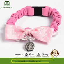 Various Designs Available Simple Dog Outdoor Elastic Braided Nylon Cat Collar Affordable Price