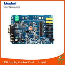EX-56A Voice LED control Card , bluetooth and RS232 Serial Input led control card with bluetooth module