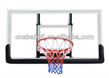 portable height basketball backboard and hoop combo