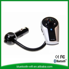 High quality aux sun visor handfree bluetooth car kit for car