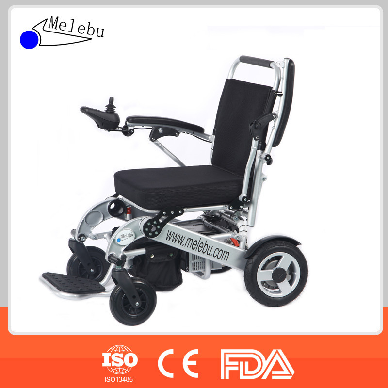 Melebu Light Weight Electric Folding Wheelchair