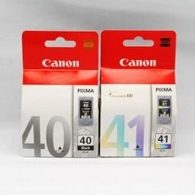 Genuine Original Canon PG40 CL41 Printer Ink Cartridge