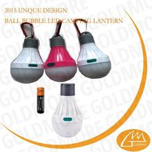 1XAA Battery operation camping decorative light bulb with hook