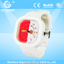 Newest 5ATM Waterproof TOP Quality Watch Custom Jelly watch Silicon Watch paypal