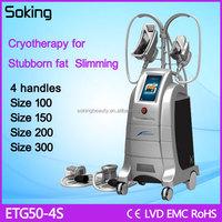 Guangzhou cryonics freezing beauty equipment with Ce certification