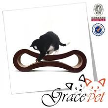 Grace Pet product corrugated cardboard toy 8 shaped cat scratcher