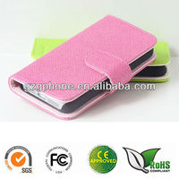 PU&PC leather cover for iphone 5