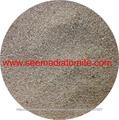 Tierra de diatomeas en polvo y granos naturales.