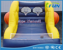 inflatable basketball one on one