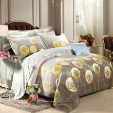 3D Latest popular design 100% Polyester disperse fabric with flower print for Bed Sheets