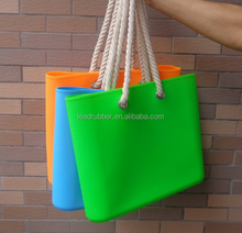 Fashionable promotional silicone shopping bag