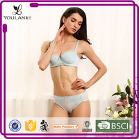 China Factory Latest Stylish Padded Bow Tie Lady Sexy Breast Full Up Bra Xxx Pakistan