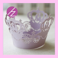 DG-24 new arrival wholesale romantic paper cupcake liners for wedding decorations