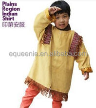 Halloween indian party dresses for boys/Child play game costumes