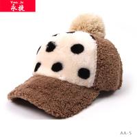 wholesale fashion cap with pom pom high quality baseball caps