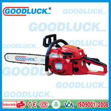 GOODLUCK 5800H Easy start and Priming bulb Gasoline/petrol chainsaw 2 stroke air cooling with CE GS EURO II