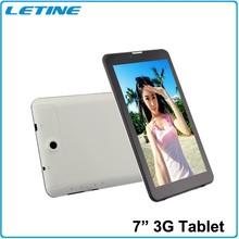MTK 8382 0.3M/5.0M camera 7 inch quad core dual sim tablet