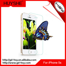 HUYSHE 9h premium tempered glass screen protector automatic attach screen protector machine with low price for iphone 5