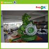green cartoon characters inflatable cartoon giant inflatable horse