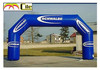 CILE 2015 cheap custom advertising blue inflatable arch for event