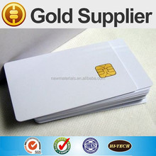 100% Brand New Material Plastic Printable PVC Blank White Cards with Chip