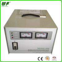 CE ROHS single phase 220VAC 2000VA automatic wall mounting voltage stabilizer