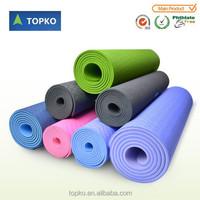 Wholesale non-slip eco-friendly custom label 100% TPE yoga mat