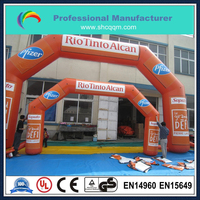 customized inflatable arches with logo printing