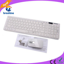 Wholesale price 2.4GHz Optical tablet pc wireless keyboard mouse combo
