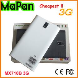 Cheapst tablet PC 3G sim card slot MaPan mobile phone dual sim card tablet PC