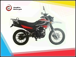 Two wheels and Single-cylinder 200cc Brazil high configuration motorcoss / street dirt motorcycle on sale