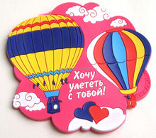 custom High quality Love and romance pink pattern PVC Coaster