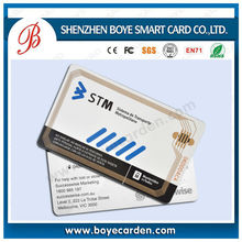 FREE SAMPLE!I High performance smart card rfid inlay TK4100/EM4200 available for card producing 1K/4K/ultralight/Desfire,etc
