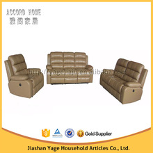 New style living room leather sofa \1+2+3 seaters recliner sofa set 9055set