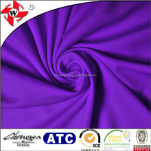 feel comfortable soft weft knitting 100% polyester sports wear fabric/100 polyester milk silk fabric