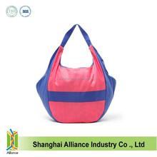 Wholesale Durable Large Nylon Shopping Bags Portable Woman Nylon Shopping Tote Bag FH071