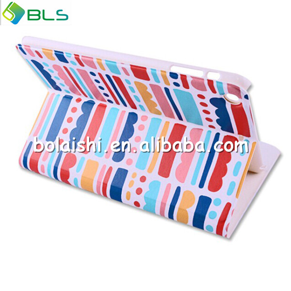 Tablet leather cover waterproof case for ipad mini