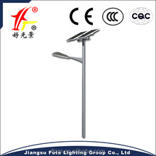 Single arm Bridgelux chips solar led road light 120 watt, super brightness & factory prices