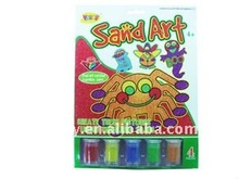 CHILDRENS COLOR ZONE SAND ART ACTIVITY COMPLETE CRAFTING SET