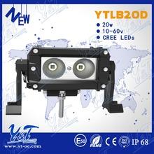 5.5 inch 12 volt led work light SUV/4WD offroad led light bar 20w auto part led truck light bar