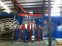 Hot selling rotational molding machine rotomoulding