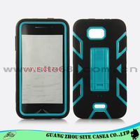 Personalized defender hybird Armor case kickstand cell phone case For Kyocera WAVE C6740
